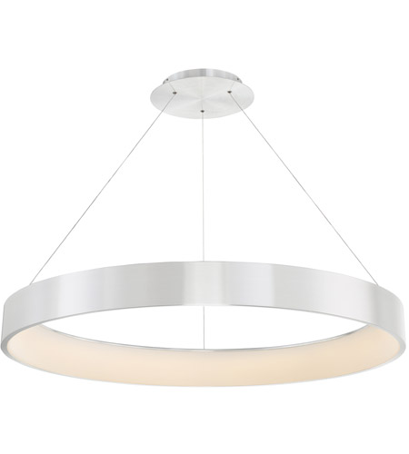WAC Lighting PD-33743-AL Corso LED 43 inch Brushed Aluminum Pendant Ceiling Light in 43in, dweLED photo