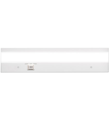WAC Lighting BA-ACLED12-27/30WT Duo 120V LED 12 inch White Cabinet Lighting photo
