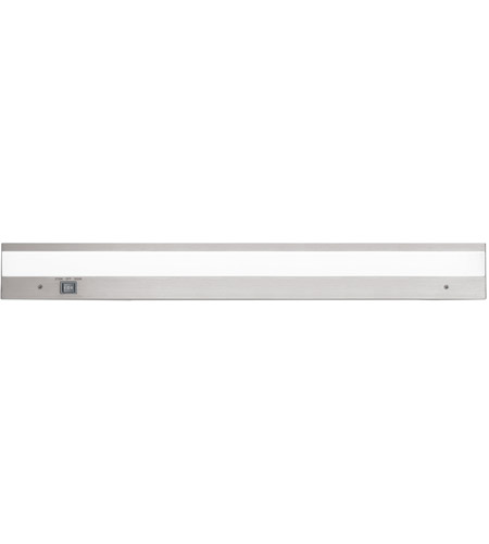 Duo 24 Inch Brushed Aluminum Undercabinet Lighting