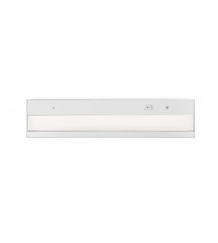 WAC Lighting BA-ACLED12-930-WT LedME PRO 120V LED 12 inch White Bar Light in 3000K, 12in photo