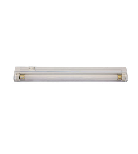 WAC Lighting T5 Fluorescent Strip Light - 8W in White BA-FT08-WT photo