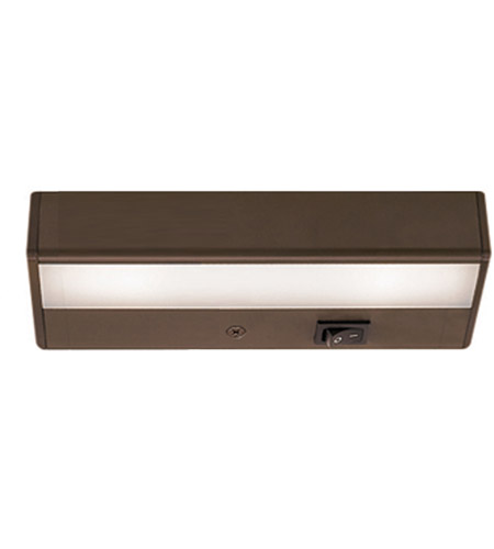 WAC Lighting BA-LED2-27-BB Undercabinet Lighting 12V LED 8 inch Bronze LED Light Bar in 2700K photo