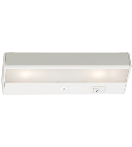 WAC Lighting BA-LED2-WT Undercabinet Lighting 12V LED 8 inch White LED Light Bar in 3000K photo