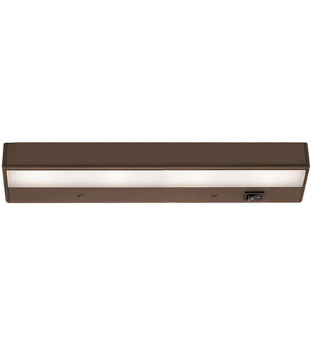 WAC Lighting BA-LED4-27-BB Undercabinet Lighting 12V LED 12 inch Bronze LED Light Bar in 2700K photo