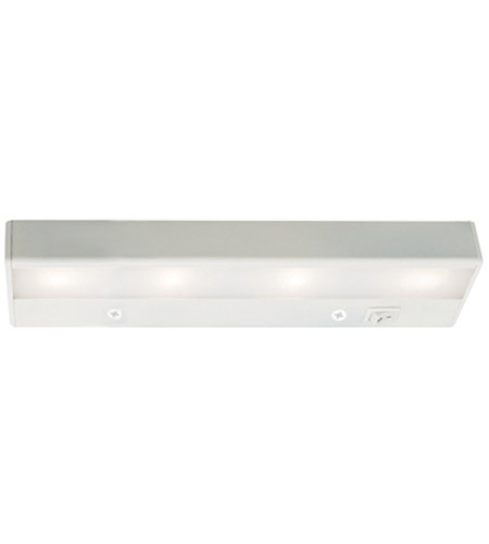 WAC Lighting BA-LED4-27-WT Undercabinet Lighting 12V LED 12 inch White LED Light Bar in 2700K photo