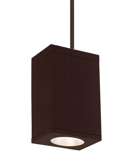 WAC Lighting DC-PD06-S927-BZ Cube Architectural LED 6 inch Bronze Pendant Ceiling Light photo