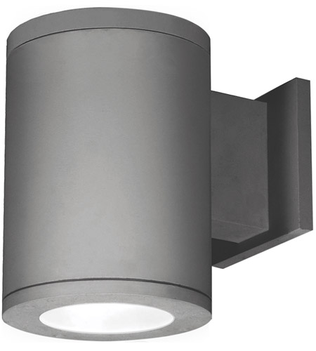 Graphite Tube Architectural Outdoor Wall Lights