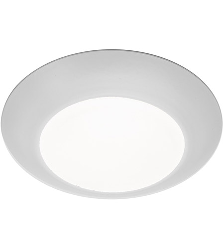WAC Lighting FM-304-930-WT Disc LED 6 inch White Flush Mount Ceiling Light photo