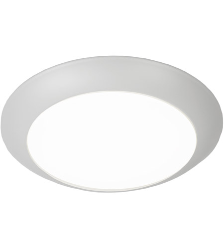 WAC Lighting FM-306-930-WT Disc LED 7 inch White Flush Mount Ceiling Light photo