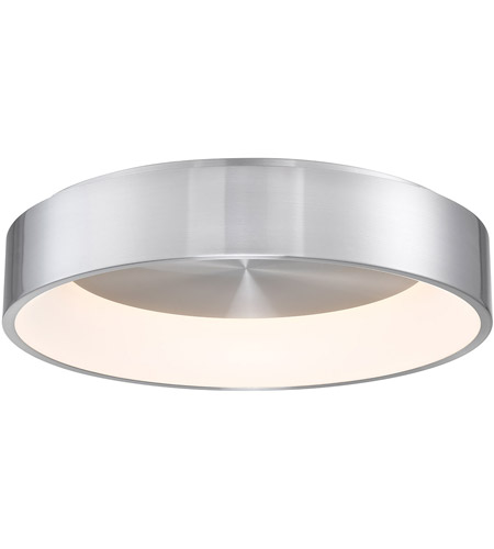 WAC Lighting FM-33723-AL Corso LED 23 inch Brushed Aluminum Flush Mount Ceiling Light in 23in, dweLED photo