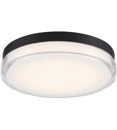 Wac Lighting Fm W57815 30 Bk Dot Led 15 Inch Black Outdoor Flush Mount Dweled