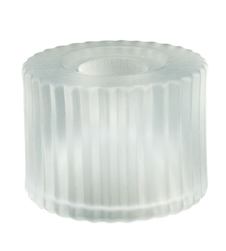 WAC Lighting G112-WT 100 Series Glass 2 inch Glass Only in White (100 Series Glass), Cylinder photo