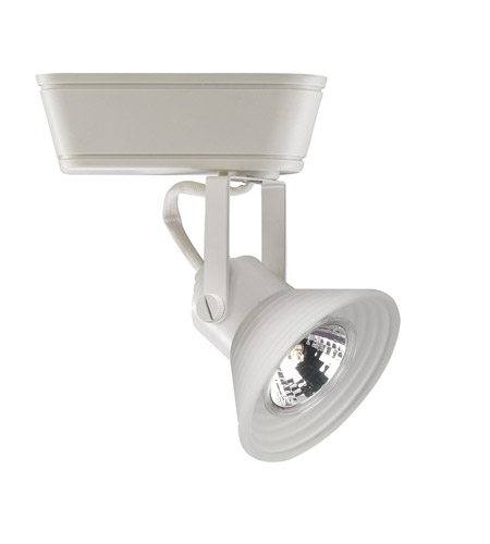 wac lighting h series low volt track head 50w in white hht 866 wt