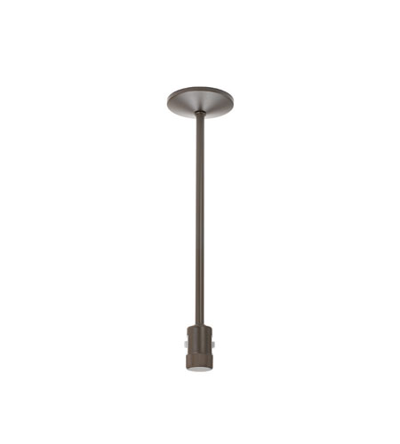 WAC Lighting HM1-I12-DB Flexrail1 Dark Bronze Rail I Connector Ceiling Light in 12in, 12in photo