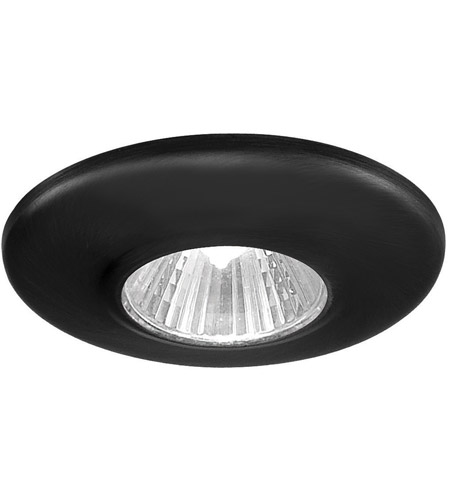 wac lighting hr 1136 bk mini recessed mr11 black recessed housing