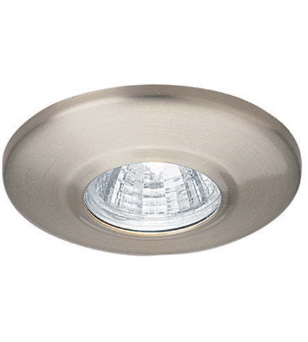 wac lighting hr 1136 bn mini recessed mr11 brushed nickel recessed