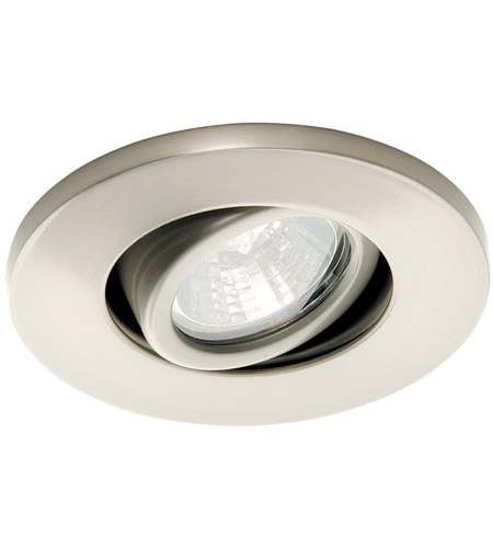 WAC Lighting Low Volt Mini - Round Adjustable in Brushed Nickel HR-1137-BN photo