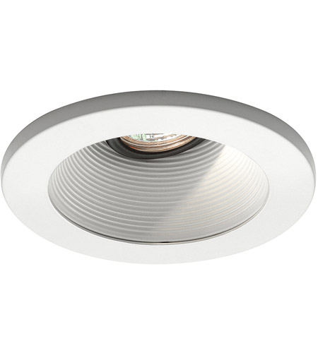 WAC Lighting HR-D411-WT/WT Signature GY5.3 MR16 White Recessed Downlight, IC Airtight Installations photo
