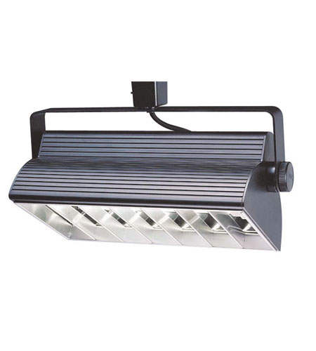 WAC Lighting H Series Cfl Wall Washer 2X18W in Black HTK-W218E-HS-BK photo