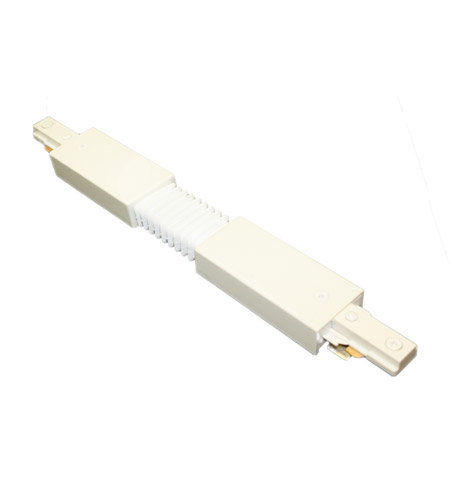wac lighting jflx wt 120v track system white flexible track
