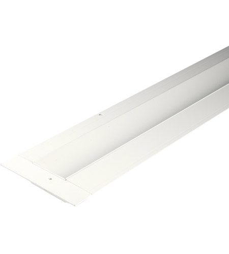 WAC Lighting LED-T-RCH1-WT InvisiLED Recessed Channels White 4 inch InvisiLED Tape Light photo