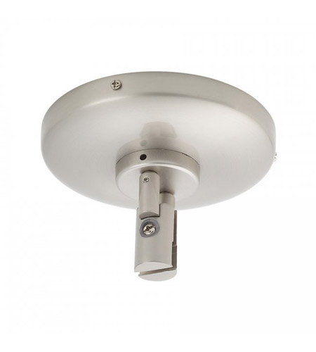 WAC Lighting LM-CPC-BN Solorail Brushed Nickel Rail Single Power Feed Ceiling Light photo