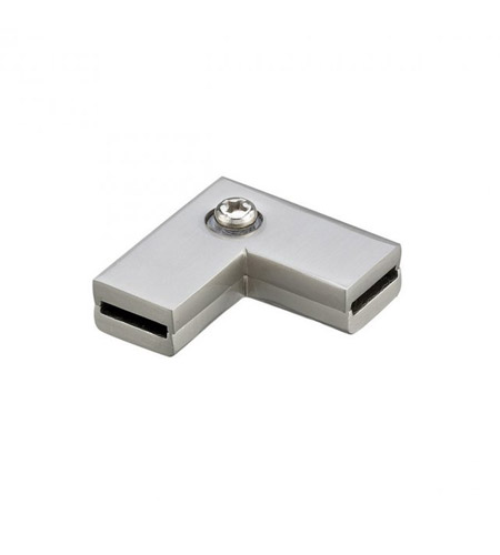 WAC Lighting Lv Monorail-Ceiling To Wall Connector in Brushed Nickel LM-CW-BN photo