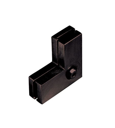 WAC Lighting Lv Monorail-Ceiling To Wall Connector in Dark Bronze LM-CW-DB photo