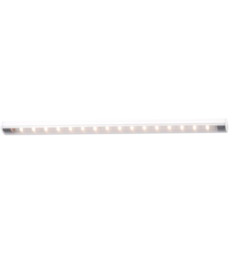 WAC Lighting LS-LED14-C-WT Undercabinet Lighting 24V 16 inch White Straight Edge String Light in 4500K, 13.25in photo