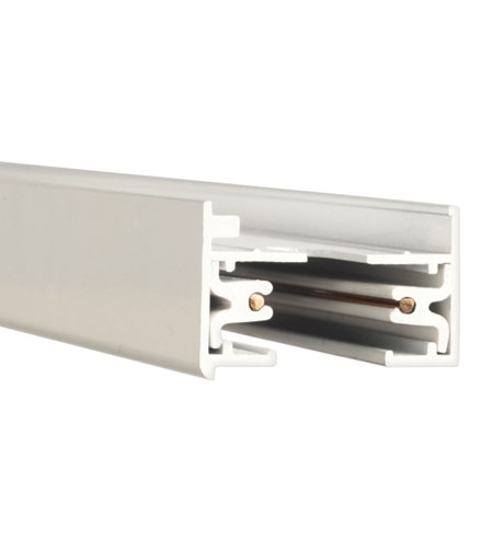 WAC Lighting L Series 4Ft Track W/2 Endcaps in White LT4-WT photo