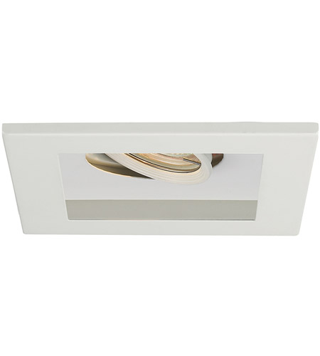 WAC Lighting MT-116-WT/WT Signature GY5.3 MR16 White Recessed Downlight photo