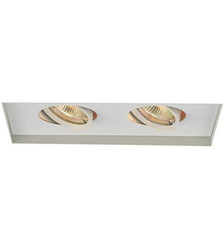 WAC Lighting MT-216TL-WT Signature GY5.3 MR16 White Recessed Downlight photo