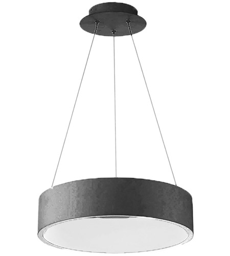 WAC Lighting PD-33718-BK Corso LED 18 inch Black Pendant Ceiling Light photo