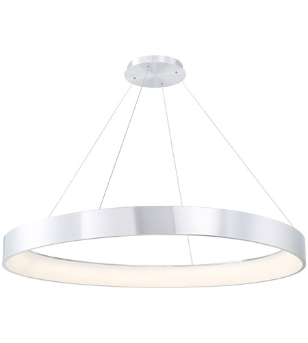 WAC Lighting PD-33753-AL Corso LED 53 inch Brushed Aluminum Pendant Ceiling Light, dweLED photo
