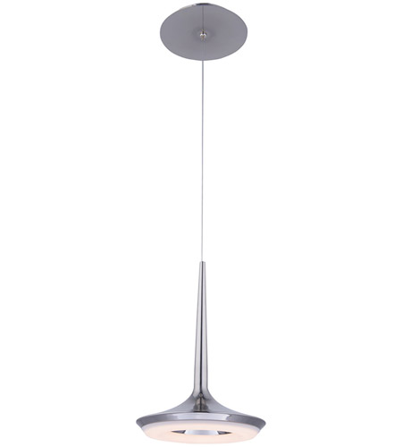 Wac Lighting Pd 36912 Sn Enterprise Led 8 Inch Satin Nickel Mini Pendant Ceiling Light Dweled