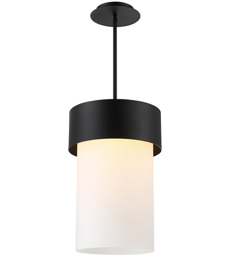 Wac Lighting Pd 42918 Bk Napa Led 12 Inch Black Pendant Ceiling Light Dweled