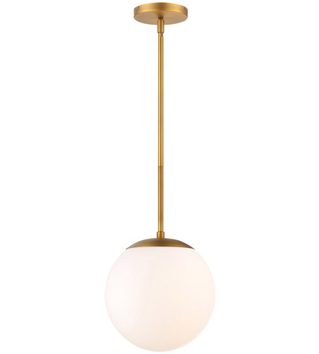 Wac Lighting Pd 52310 Ab Niveous Led 10 Inch Aged Br Pendant Ceiling Light Dweled