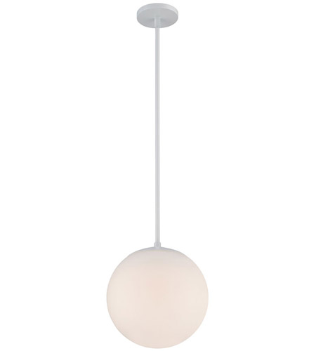 WAC Lighting PD-52310-WT Niveous LED 10 inch White Pendant Ceiling Light photo