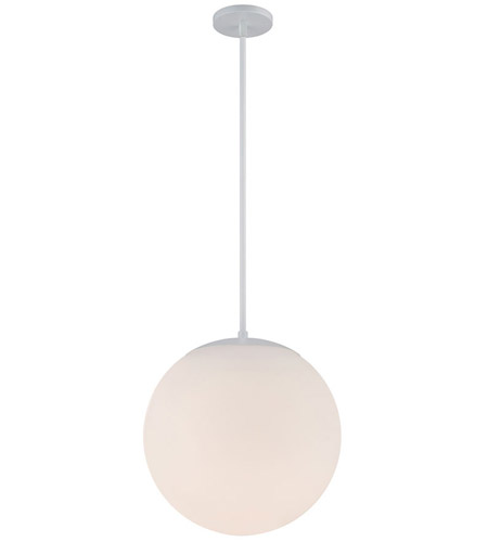 WAC Lighting PD-52313-WT Niveous LED 14 inch White Pendant Ceiling Light photo