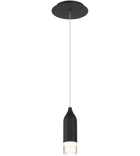 WAC Lighting PD-76908-BK Action LED 2 inch Black Mini Pendant Ceiling Light, dweLED photo