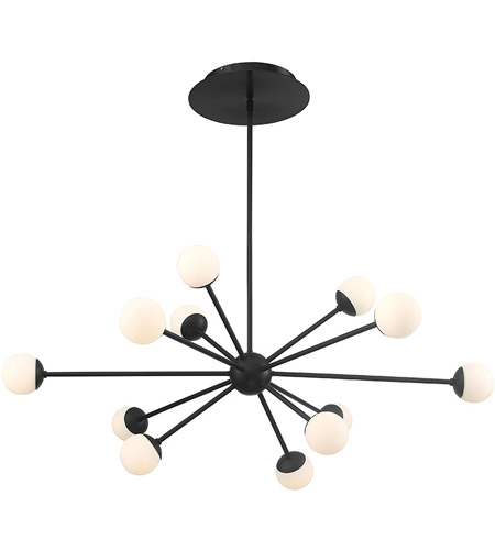 Bossa Nova LED 44 inch Black Pendant Ceiling Light on