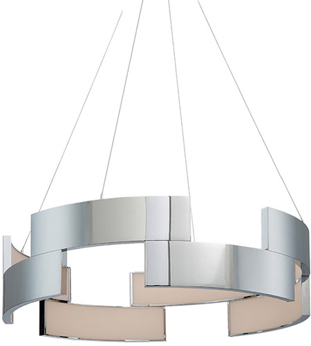 WAC Lighting PD-95827-CH Trap LED 27 inch Chrome Pendant Ceiling Light photo
