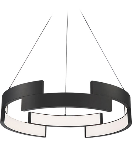 Trap Led 38 Inch Black Pendant Ceiling Light