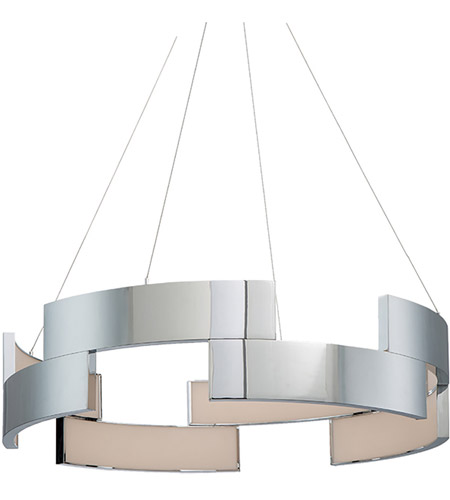 WAC Lighting PD-95838-CH Trap LED 38 inch Chrome Pendant Ceiling Light photo