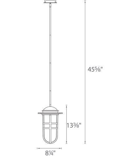 WAC Lighting PD-W24513-GH