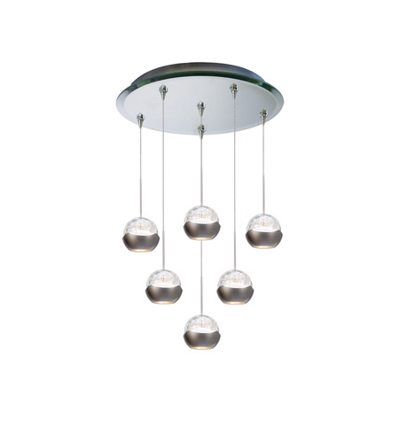 WAC Lighting QMP-LED311/6-MR Cosmopolitan LED 4 inch Mirror Pendant Ceiling Light in 6  sc 1 st  WAC Lighting Lights & WAC Lighting QMP-LED311/6-MR Cosmopolitan LED 4 inch Mirror Pendant ...