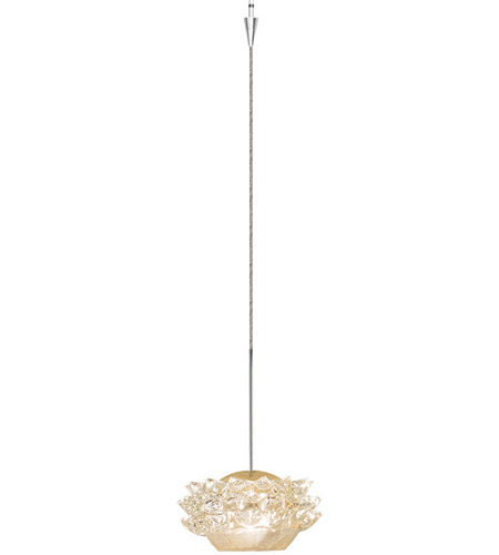 Eternity Jewelry Led 4 Inch Brushed Nickel Pendant Ceiling Light