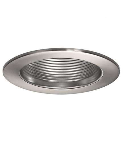 WAC Lighting R-420-BN Recessed Lighting PAR20, R20, TRI-TUBE 4-PIN Brushed Nickel Recessed Trim and Socket, IC and Non-IC Installations photo