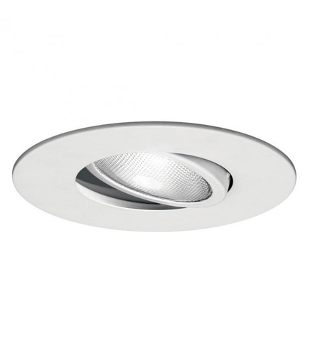 WAC Lighting R-633-WT Recessed Lighting PAR38 White Recessed Trim and Socket, Residential and Light Commercial photo
