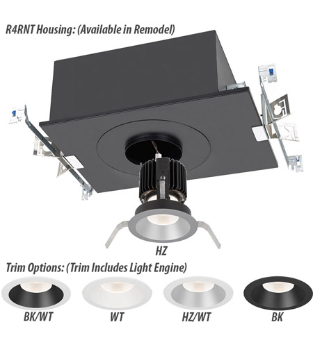 WAC Lighting R4RD1T-N830-HZWT Volta LED Module Haze White Shallow Regressed Trim alternative photo thumbnail